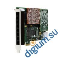 8-и портовая аналоговая карта PCI-Express с модулем эхоподавления1A8B01F